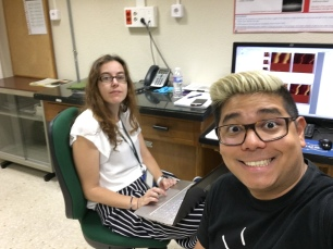 Rebollar and Martínez-Tong at the AFM